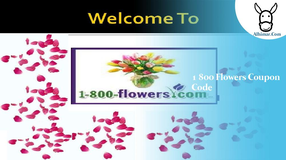 1 800 flowers coupon code