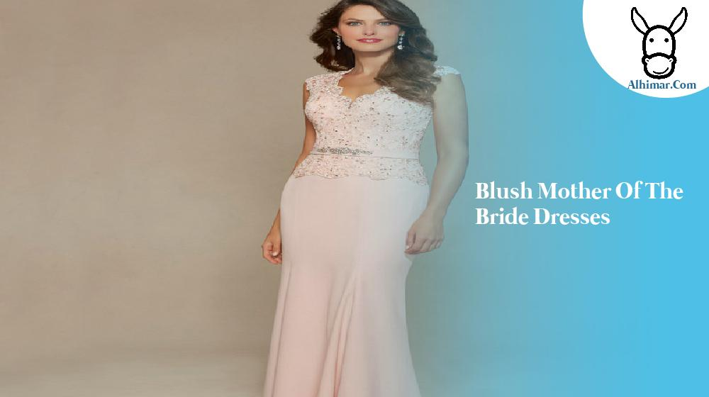 Blush mother of the bride dresses