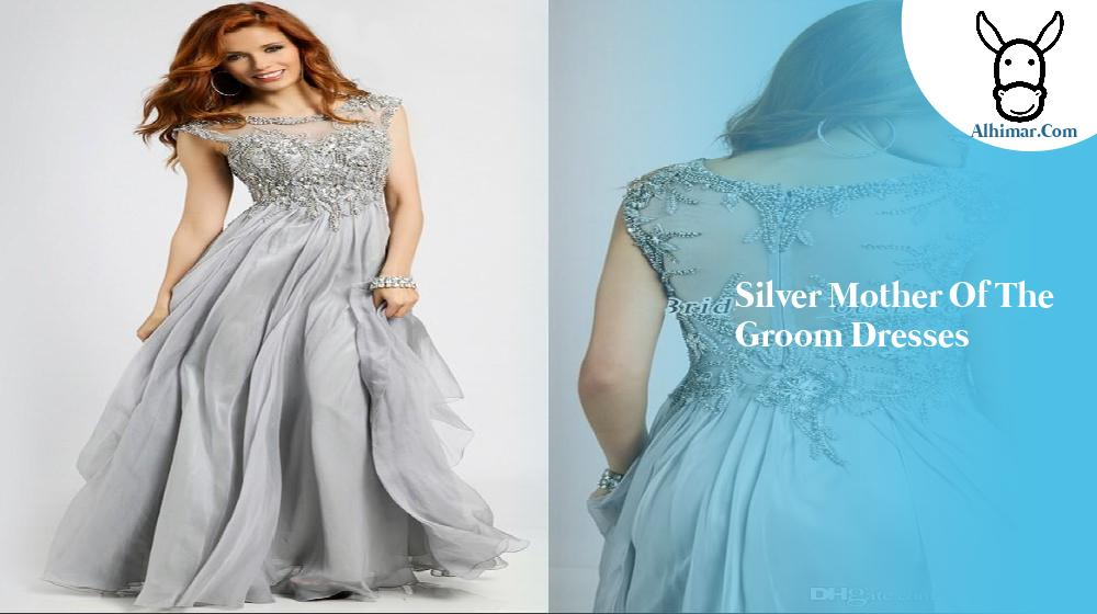 Silver mother of the groom dresses