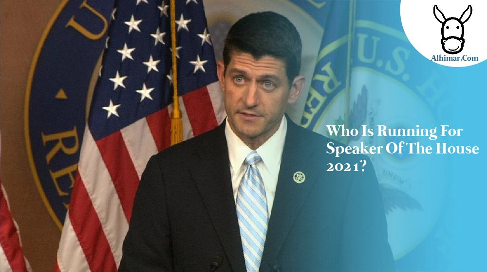 Who is running for speaker of the house 2021?