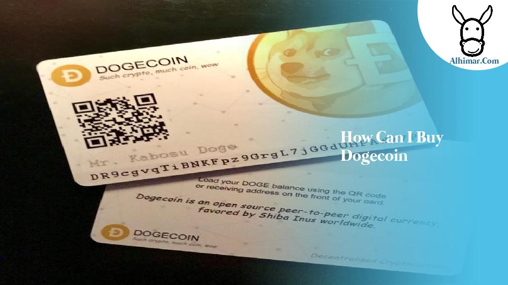 how can i buy dogecoin