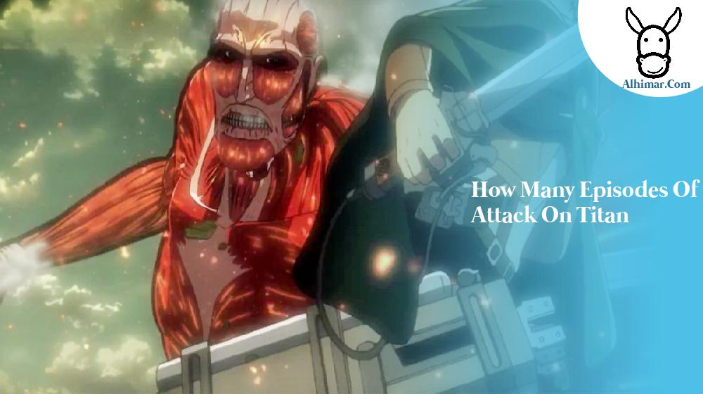 how many episodes of attack on titan