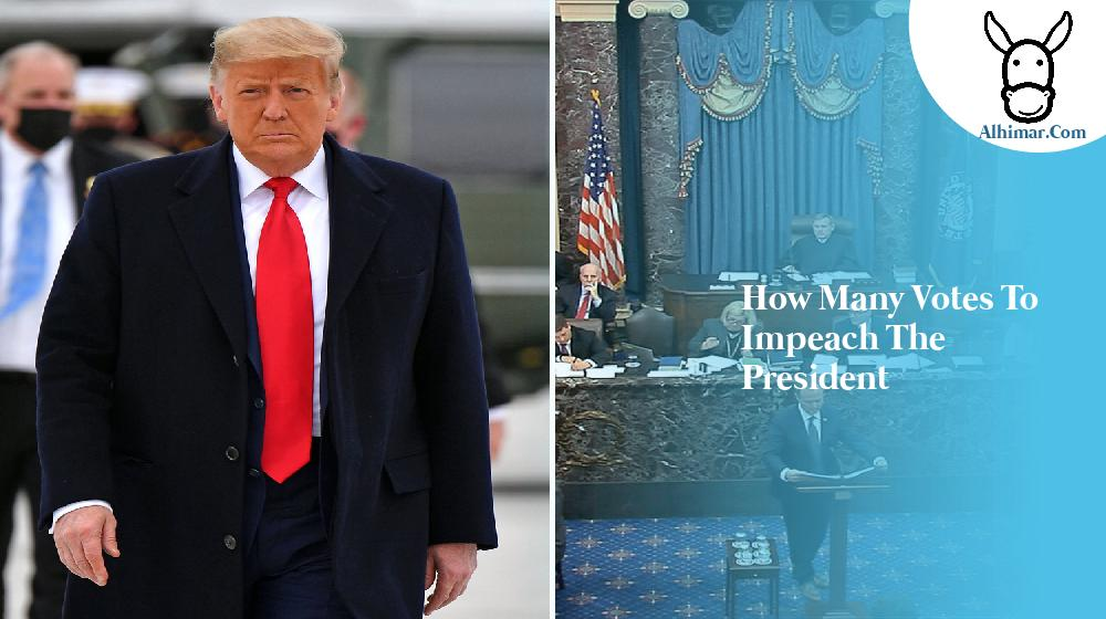 how many votes to impeach the president