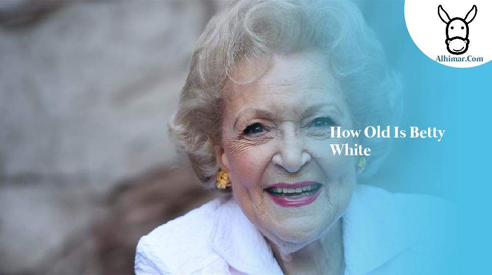 how old is betty white