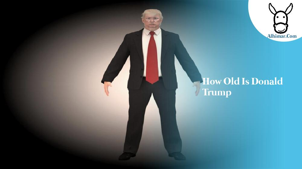 how old is donald trump