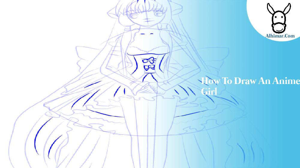 how to draw an anime girl