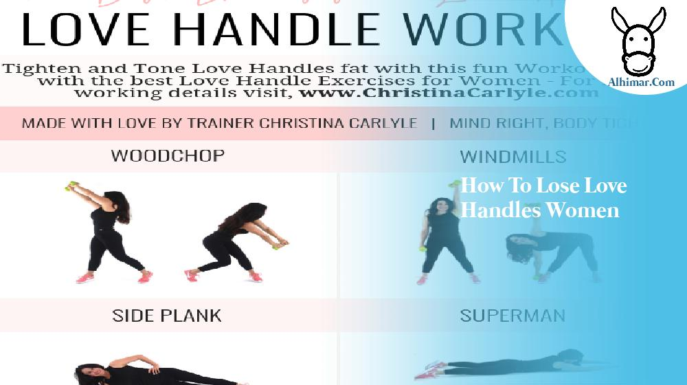 how to lose love handles women