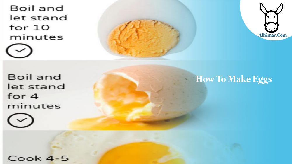 how to make eggs