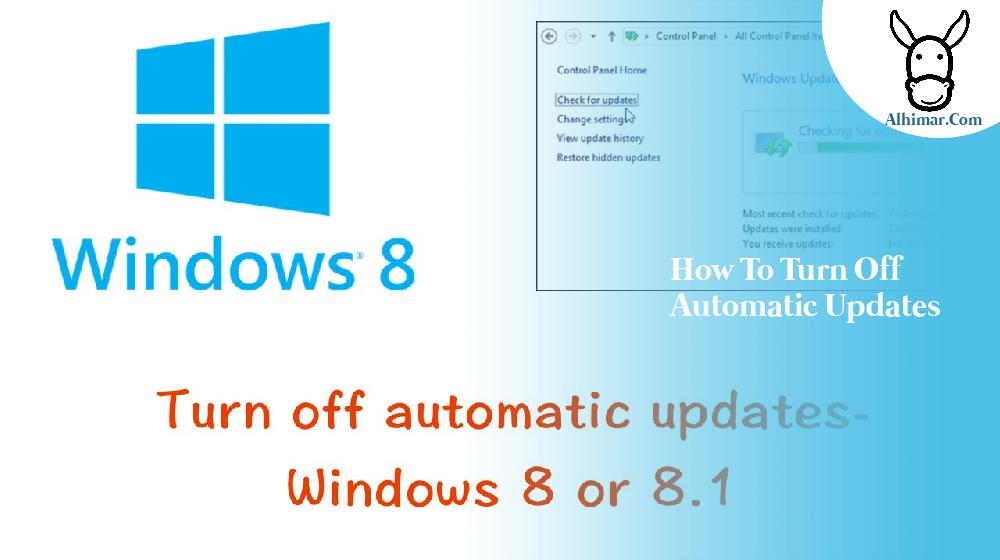 how to turn off automatic updates
