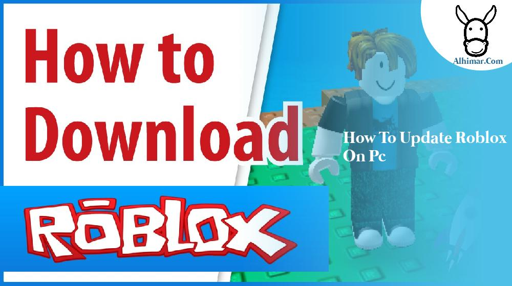 how to update roblox on pc