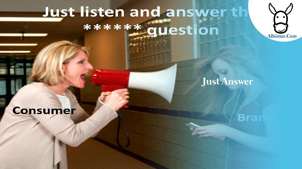just answer