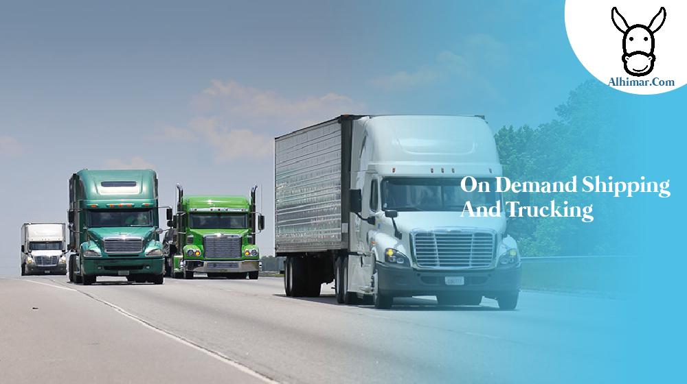 on demand shipping and trucking