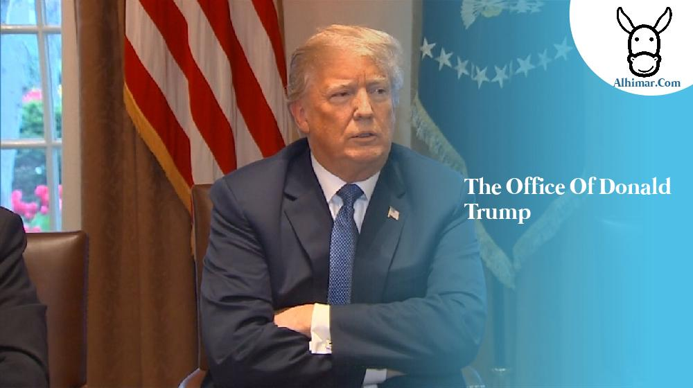the office of donald trump