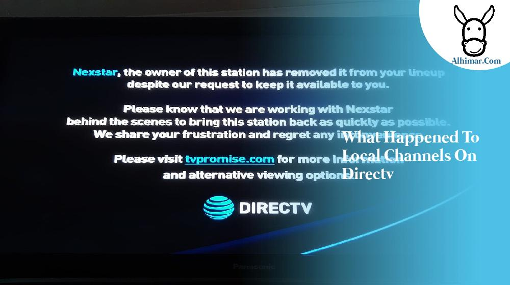 what happened to local channels on directv