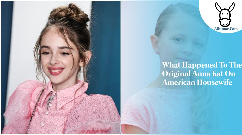 what happened to the original anna kat on american housewife