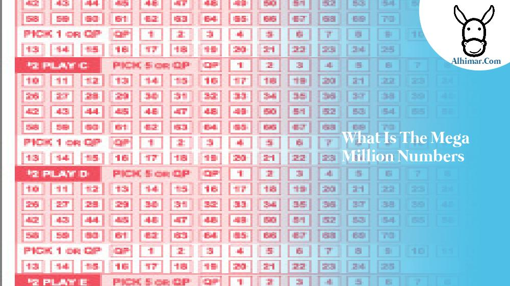 what is the mega million numbers