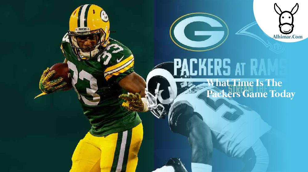 what time is the packers game today