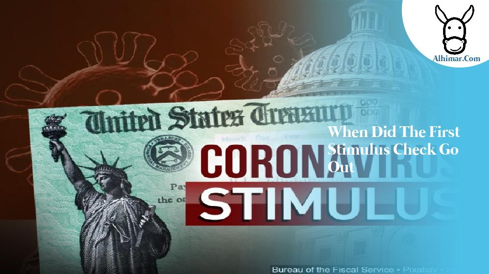 when did the first stimulus check go out