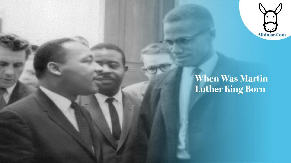 when was martin luther king born