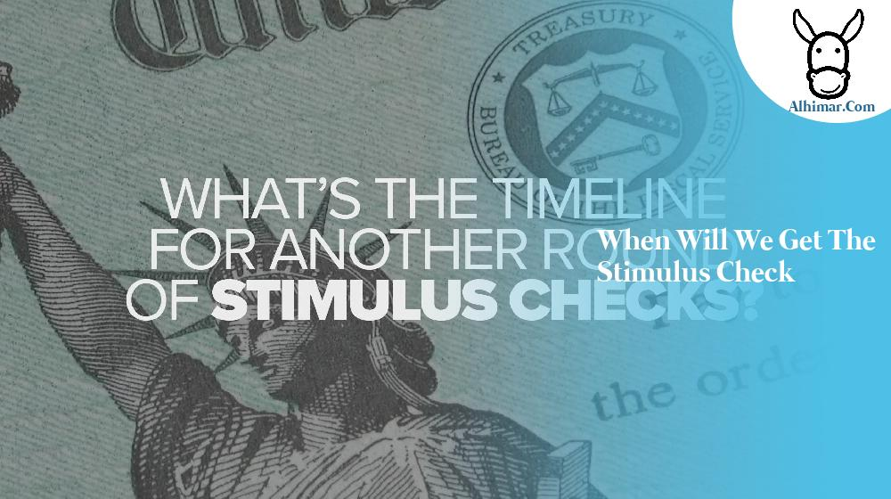 when will we get the stimulus check
