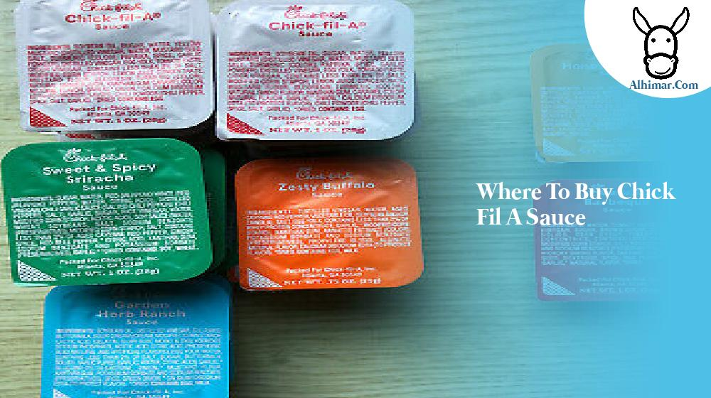 where to buy chick fil a sauce