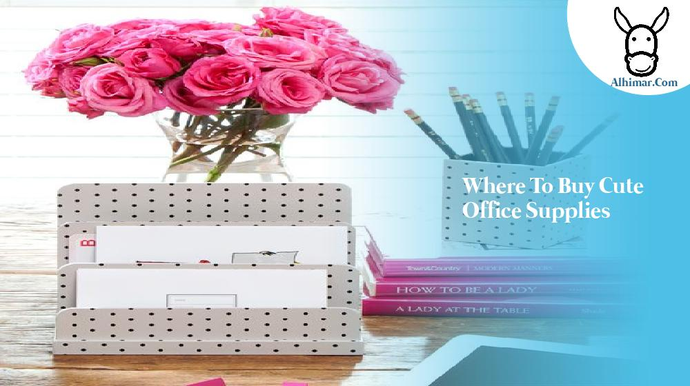 where to buy cute office supplies