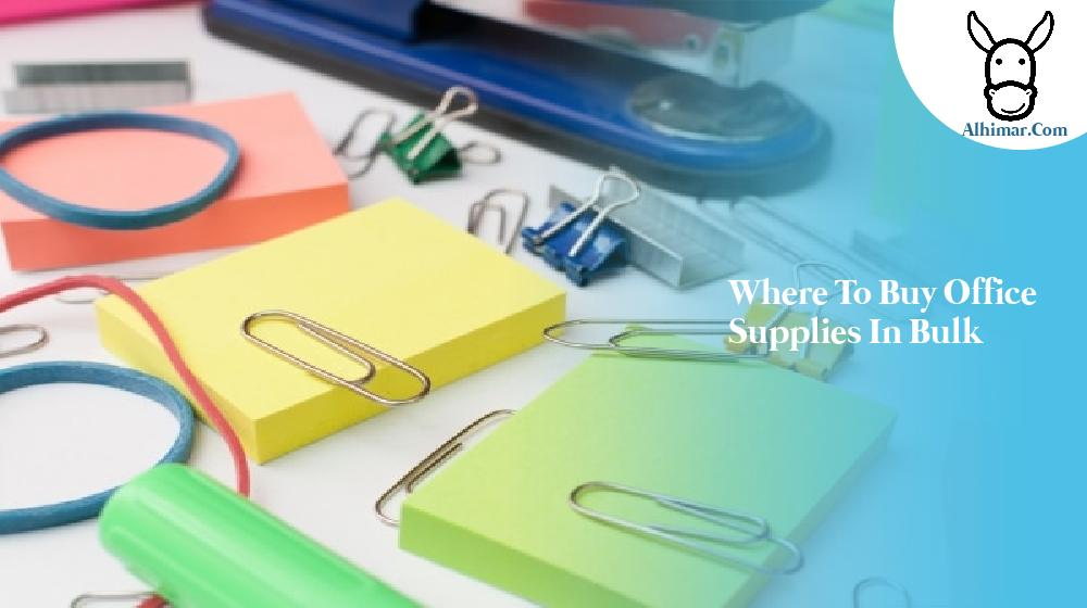 where to buy office supplies in bulk