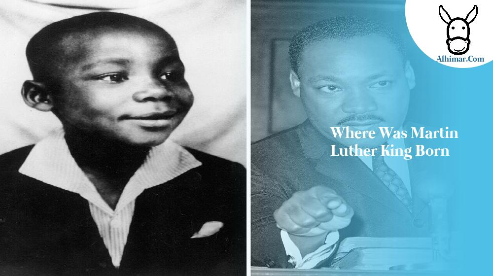 where was martin luther king born