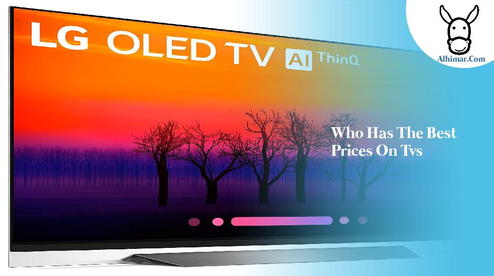 who has the best prices on tvs