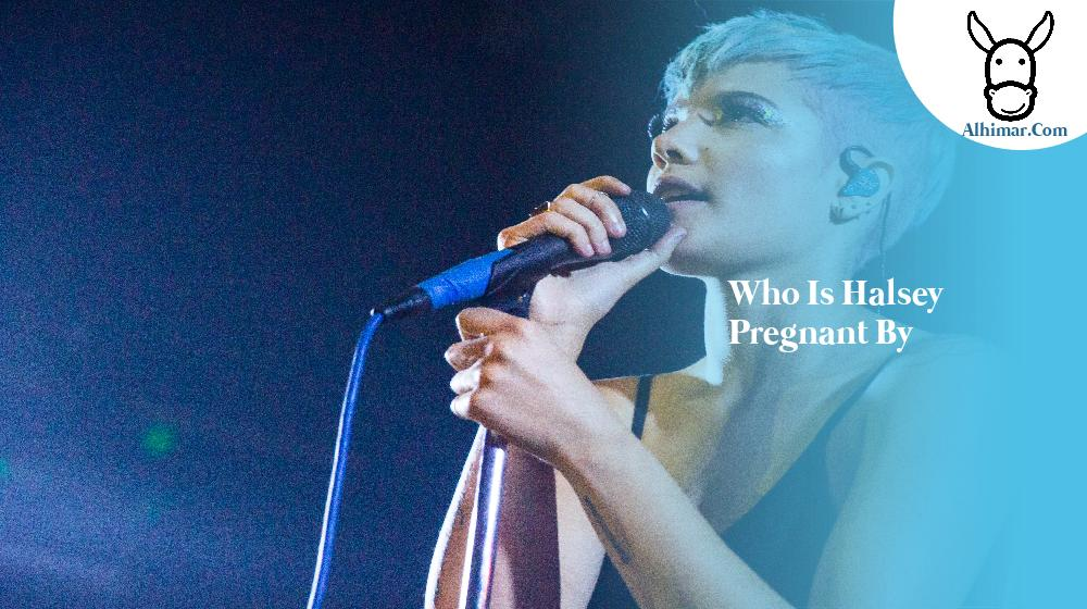 who is halsey pregnant by