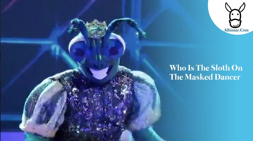 who is the sloth on the masked dancer