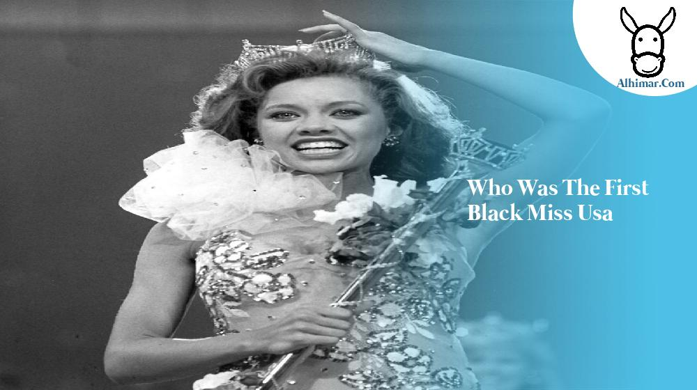 who was the first black miss usa