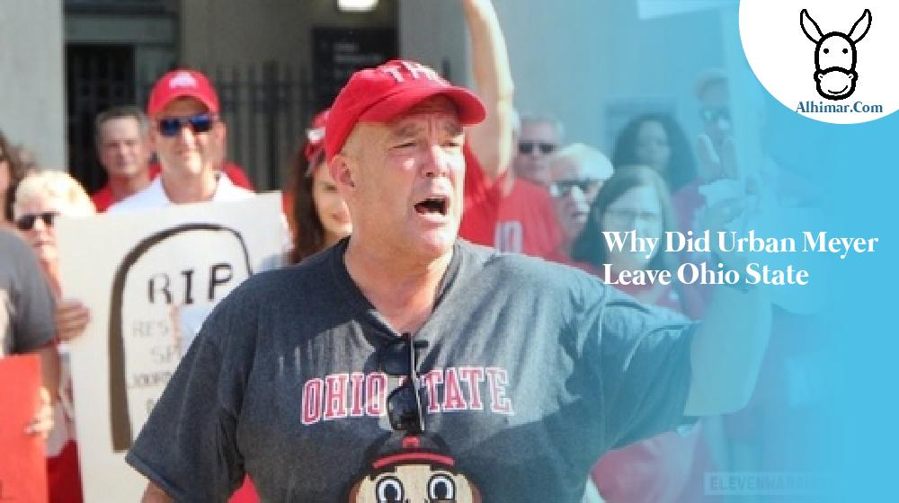 why did urban meyer leave ohio state