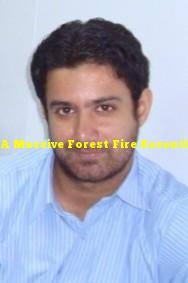 A Massive Forest Fire Recently Occured At The Dzukou Valley, Located At The Border Of Which Two Indian States?