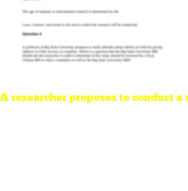 A researcher proposes to conduct a study at a foreign site. the research has been determined to be exempt from the federal regulations by institutional policy. according to federal regulations, is review required at the foreign site?