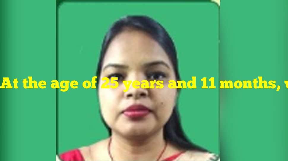 At the age of 25 years and 11 months, who is the youngest Lok Sabha member ever?