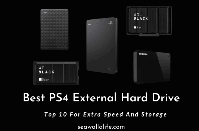 Best PS4 External Hard Drive (Our Picks 2021)