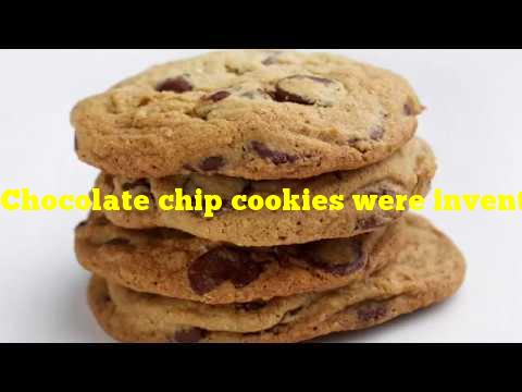Chocolate chip cookies were invented in which state?