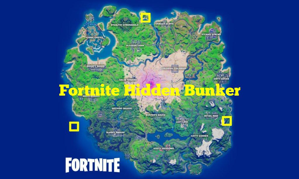 Fortnite Hidden Bunker