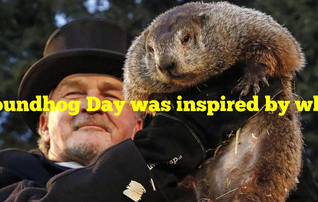 Groundhog Day was inspired by what February Christian holiday?