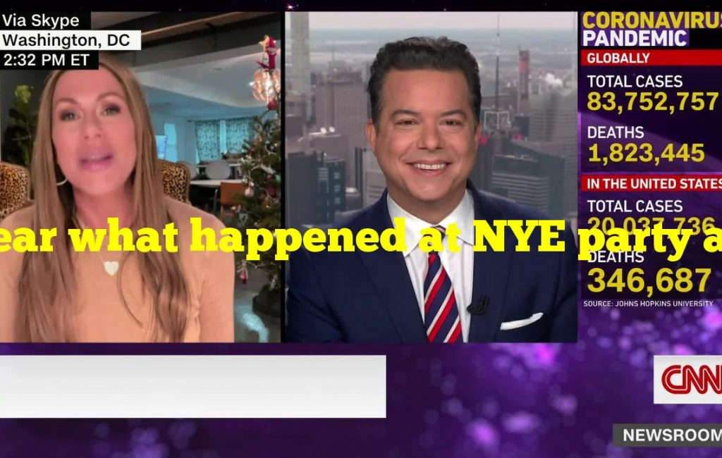 Hear what happened at NYE party after Trump bailed on it
