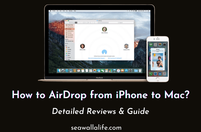 How to AirDrop from iPhone to Mac (Step By Step)