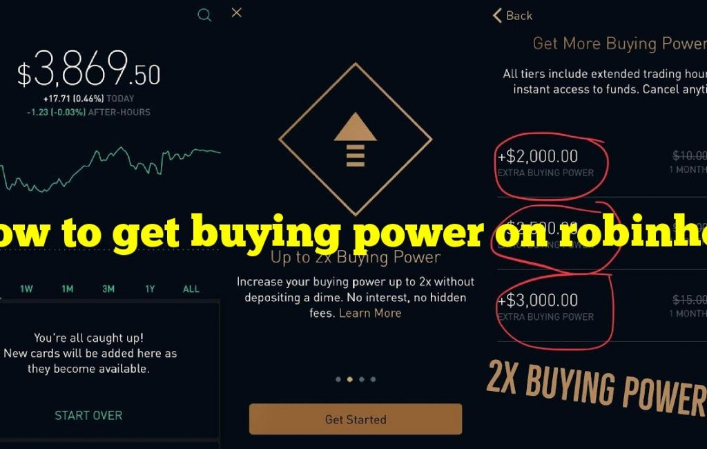 How to get buying power on robinhood