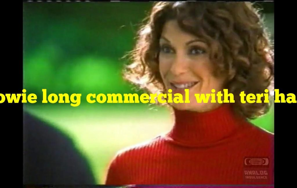 Howie long commercial with teri hatcher