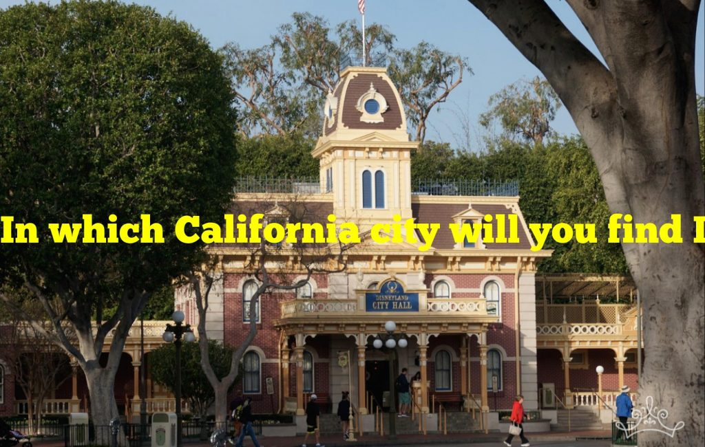 In which California city will you find Disneyland?