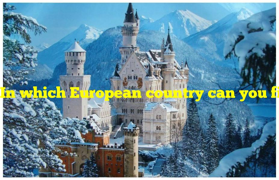 In which European country can you find this stunning castle?