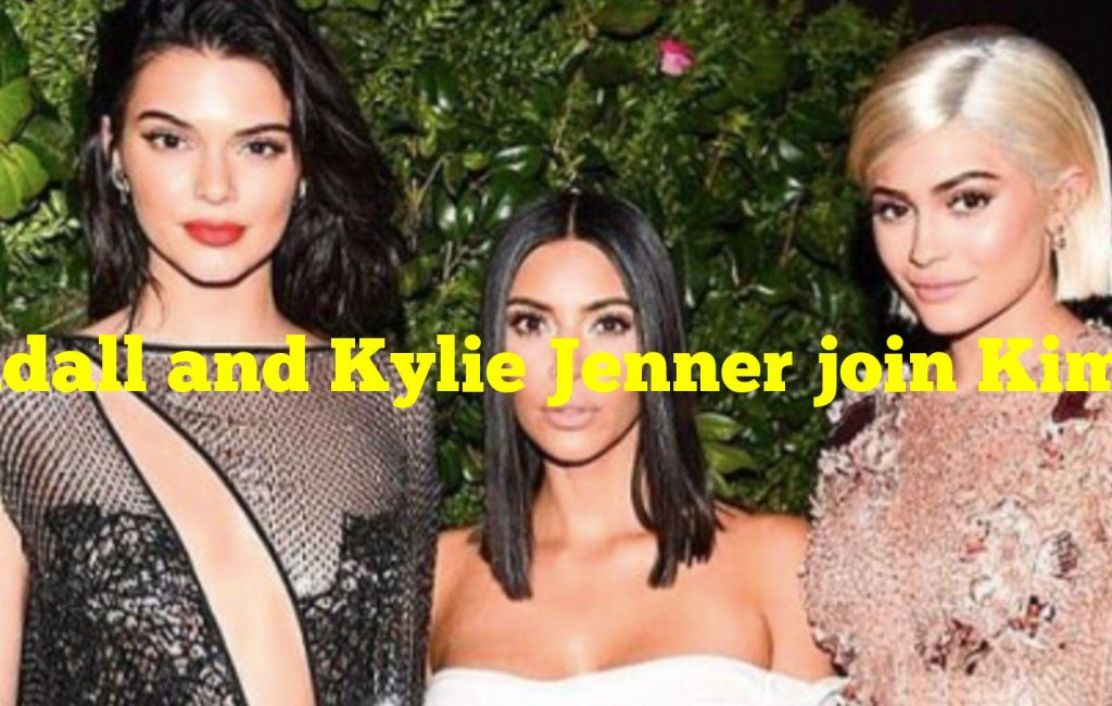 Kendall and Kylie Jenner join Kim Kardashian for the SKIMS Valentine's Day collection photoshoot