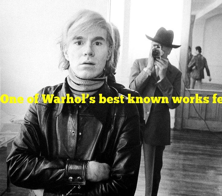 One of Warhol's best known works features what movie star?