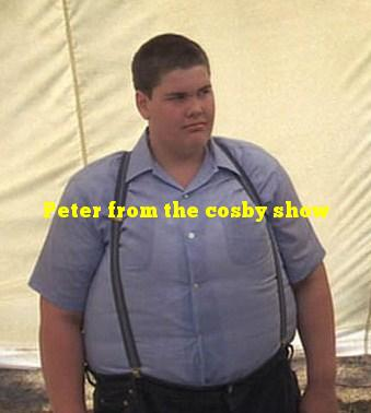 Peter from the cosby show