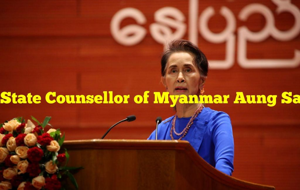 State Counsellor of Myanmar Aung San Suu Kyi is detained by the military in a coup
